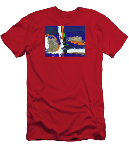 Composition Orientale No 1 Men's T-Shirt (Slim Fit) by Walter Fahmy