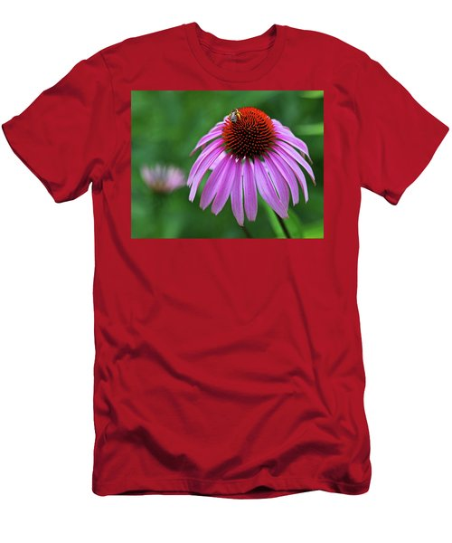 Men's T-Shirt (Slim Fit) featuring the photograph Coneflower by Judy Vincent