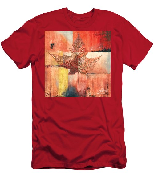 Contemporary Leaf 2 Men's T-Shirt (Athletic Fit)