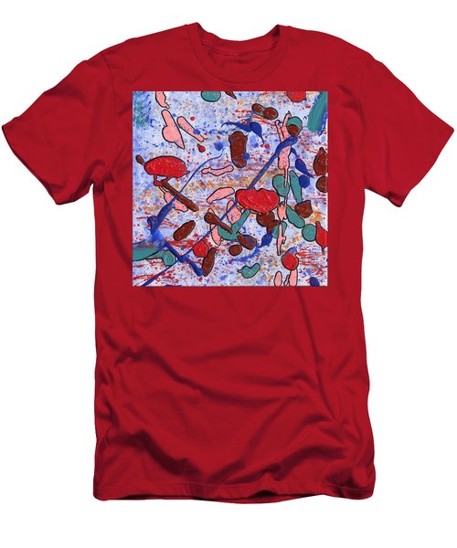 Conversation With Grace Men's T-Shirt (Slim Fit) by Phil Strang
