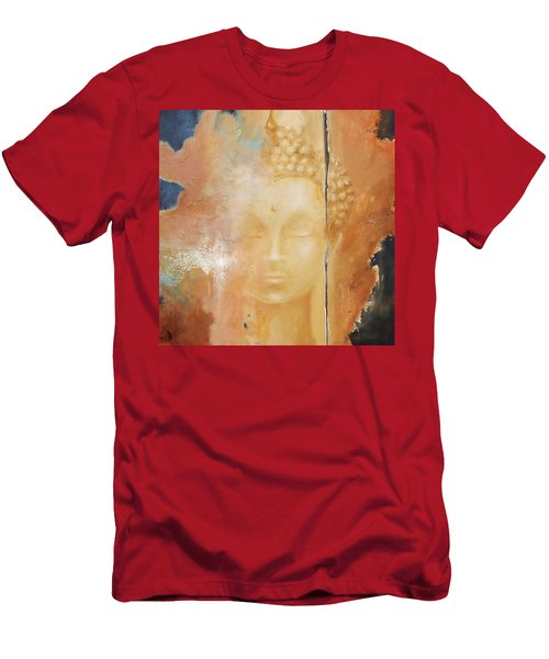 Copper Buddha Men's T-Shirt (Athletic Fit)