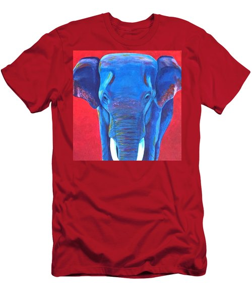Critically Endangered Sumatran Elephant  Men's T-Shirt (Athletic Fit)