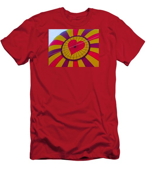 Men's T-Shirt (Slim Fit) featuring the photograph Cross My Heart by Brenda Pressnall