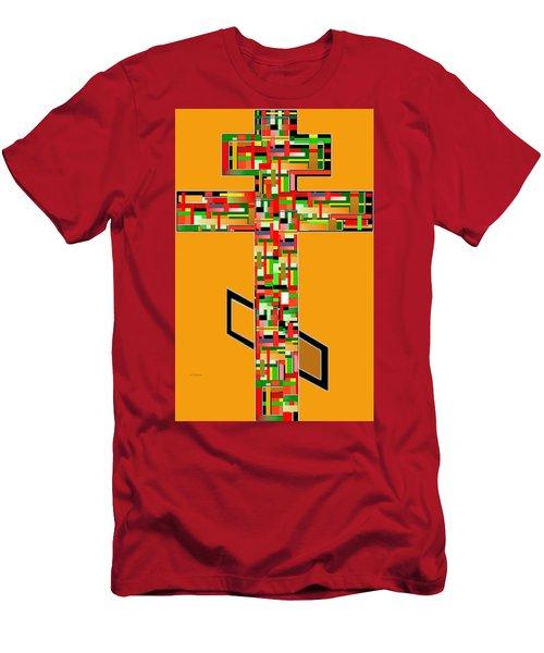 Cross No. 5 Men's T-Shirt (Athletic Fit)