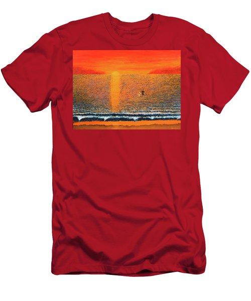 Crossing Over Men's T-Shirt (Slim Fit)