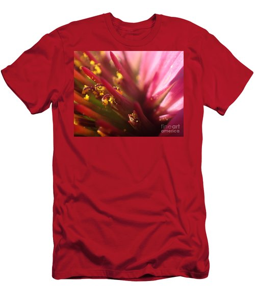Men's T-Shirt (Slim Fit) featuring the photograph Curly Contrast by Christina Verdgeline