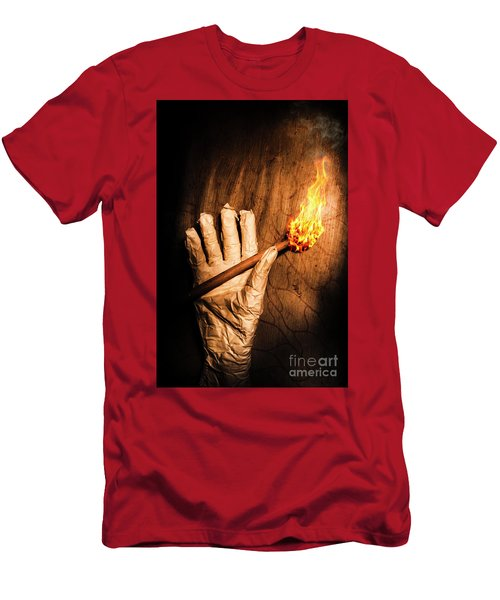 Curse Of The Tomb Robber Men's T-Shirt (Athletic Fit)