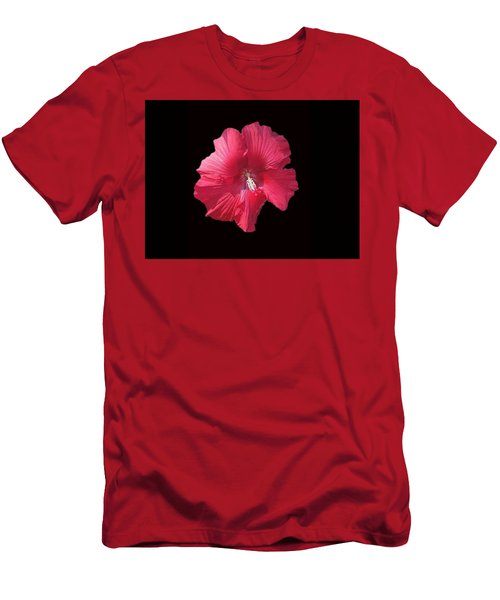 Dads Hibiscus Men's T-Shirt (Athletic Fit)