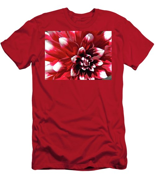 Dahlia Defined Men's T-Shirt (Slim Fit) by Randy Rosenberger