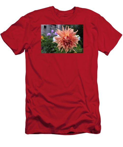 Dahlia - Inverness Men's T-Shirt (Slim Fit) by Amy Fearn