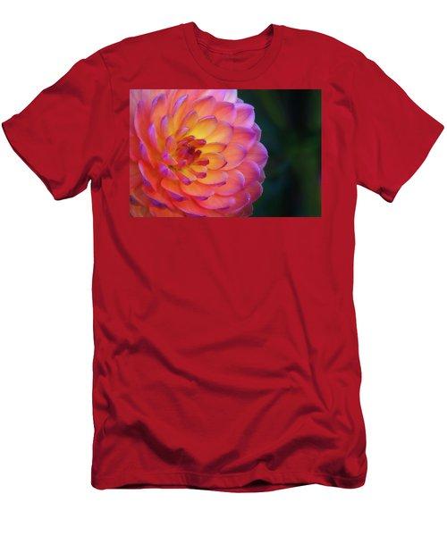 Dahlia Portrait Men's T-Shirt (Athletic Fit)