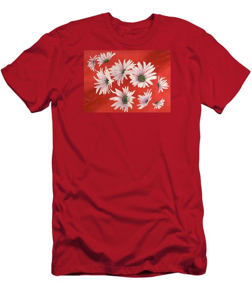 Daisy Chain Men's T-Shirt (Slim Fit) by Ruth Kamenev
