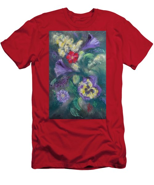 Dance Of The Flowers Men's T-Shirt (Athletic Fit)