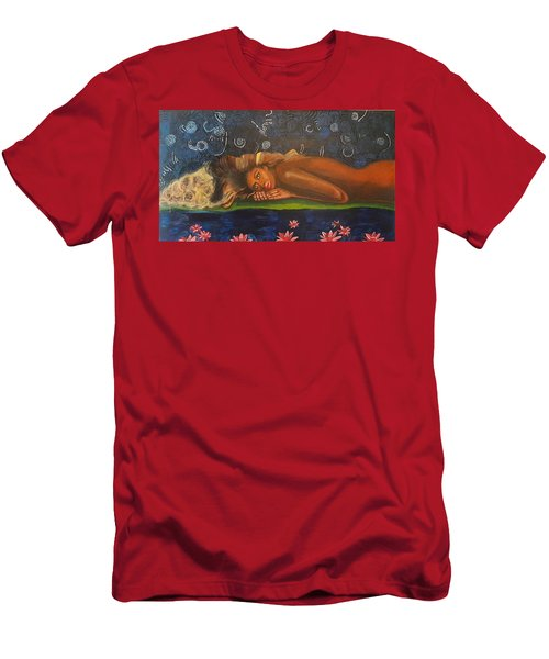 Daughter Of The Cosmos Men's T-Shirt (Athletic Fit)