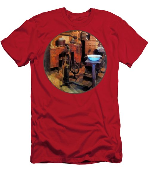 Dentist - Dental Office With Drill Men's T-Shirt (Athletic Fit)