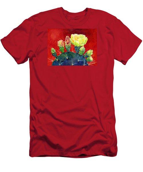 Desert Bloom 3 Men's T-Shirt (Athletic Fit)