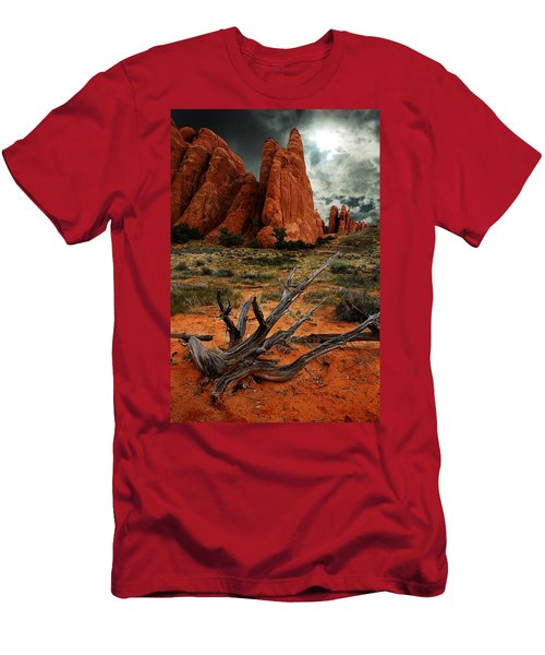 Desert Floor Men's T-Shirt (Athletic Fit)