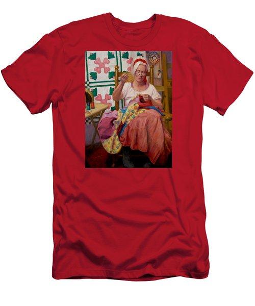 Desert Rose Men's T-Shirt (Athletic Fit)