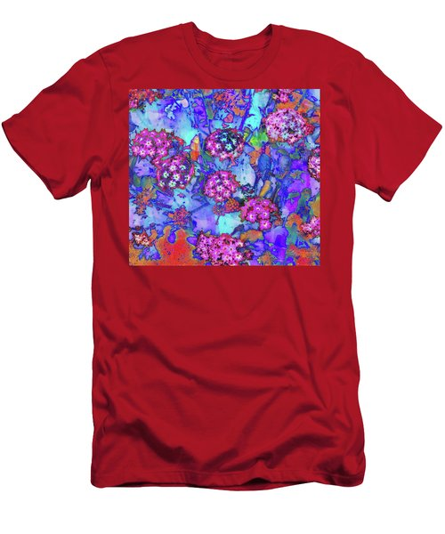Men's T-Shirt (Athletic Fit) featuring the photograph Desert Vibe Bloom by Michael Hope