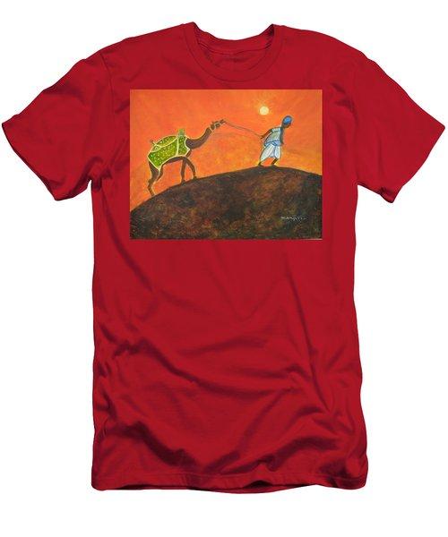 Desert Walk Men's T-Shirt (Athletic Fit)