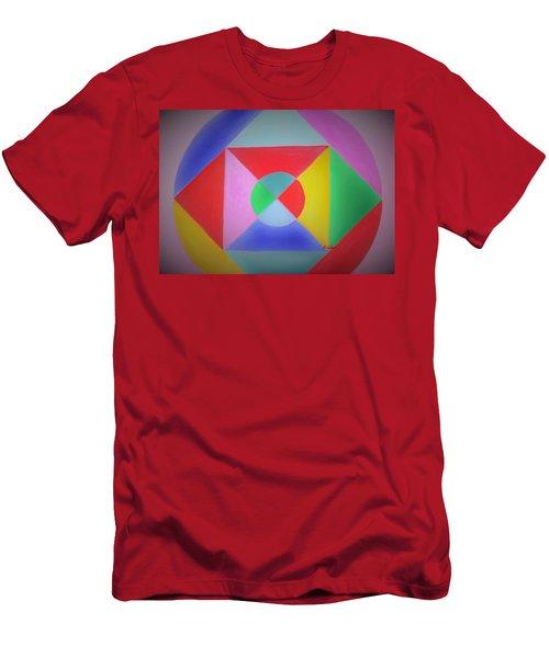 Design Number One Men's T-Shirt (Athletic Fit)