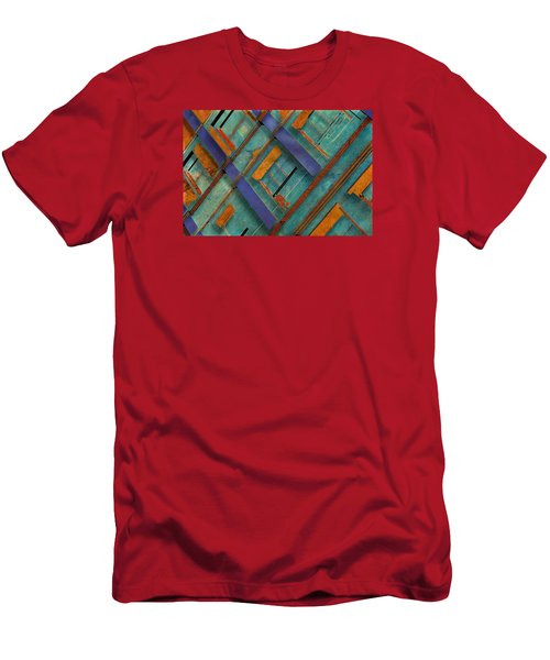 Diagonal Men's T-Shirt (Athletic Fit)