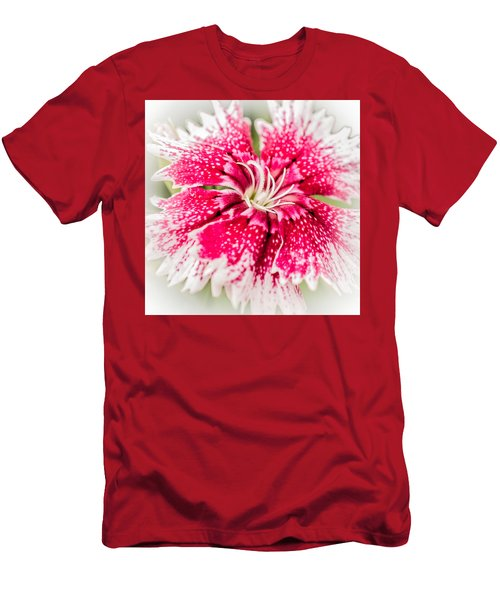 Dianthus Beauty Men's T-Shirt (Slim Fit) by Yeates Photography