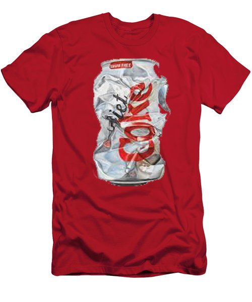 Diet Coke T-shirt Men's T-Shirt (Slim Fit) by Herb Strobino