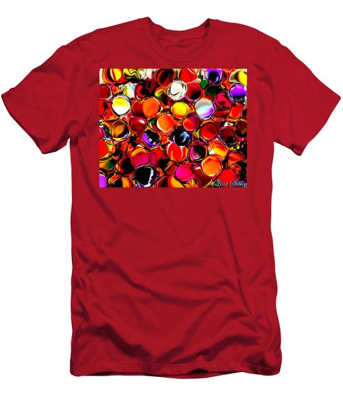 Digital2012b Men's T-Shirt (Slim Fit) by Loxi Sibley