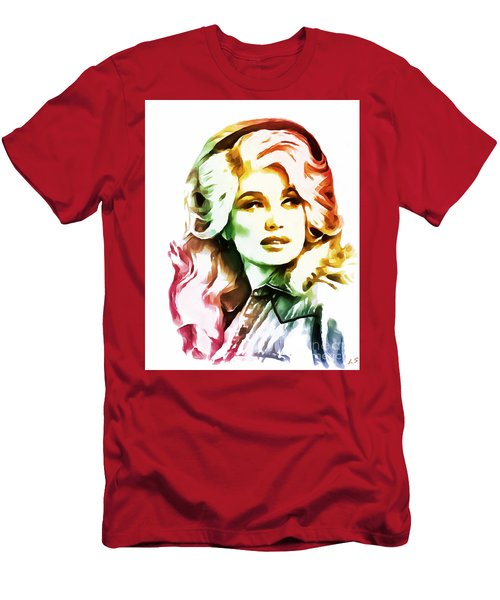 Dolly Parton Men's T-Shirt (Athletic Fit)