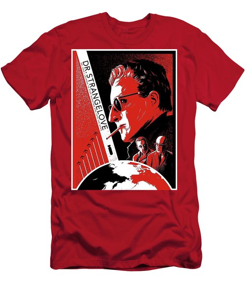 Dr. Strangelove Theatrical Poster Number Three 1964 Men's T-Shirt (Athletic Fit)