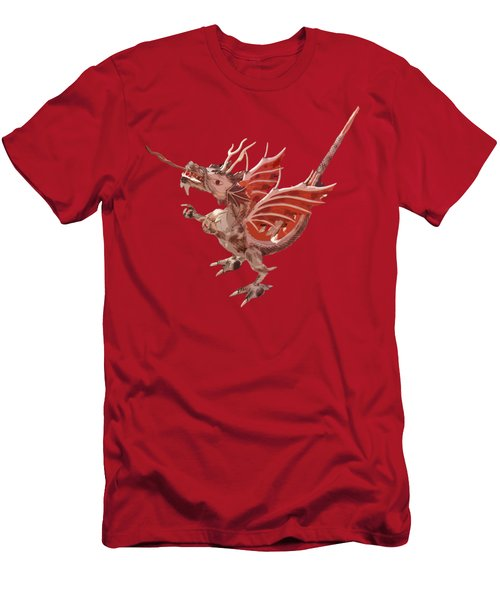 Dragon Art Men's T-Shirt (Athletic Fit)