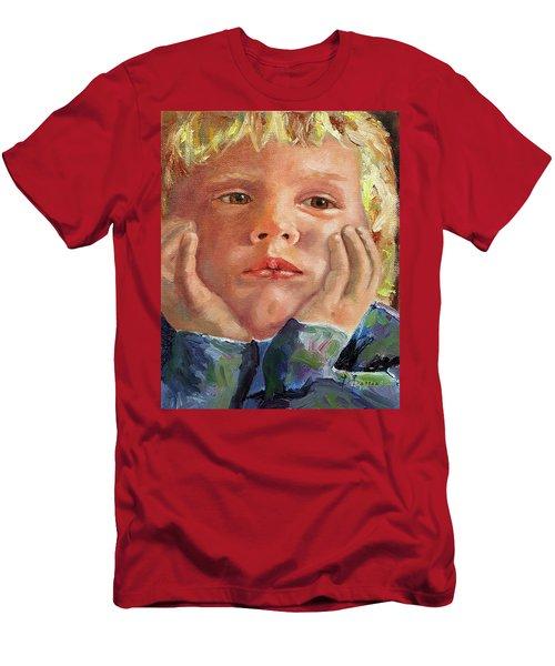 Dreamer Men's T-Shirt (Slim Fit) by Janet Garcia