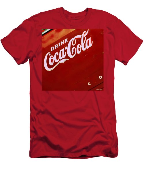 Drink Coke Men's T-Shirt (Athletic Fit)