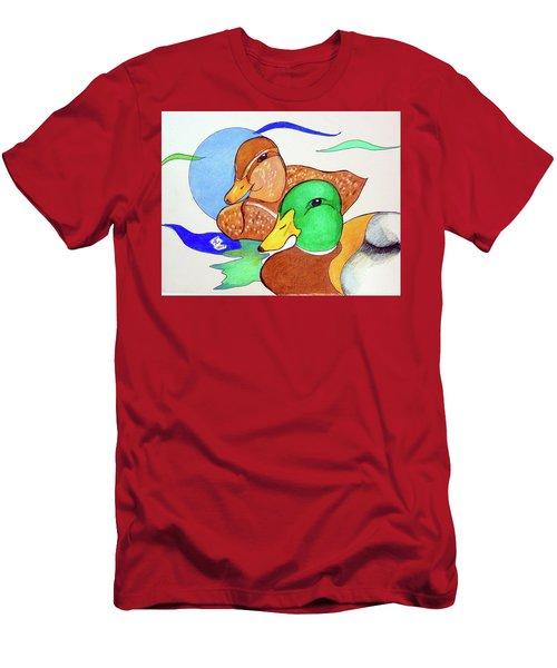 Ducks2017 Men's T-Shirt (Athletic Fit)