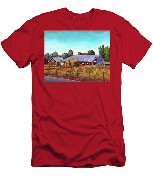Eagle Road Barn Men's T-Shirt (Athletic Fit)