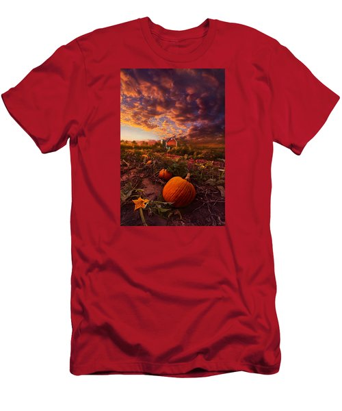 Echos You Can See Men's T-Shirt (Slim Fit) by Phil Koch