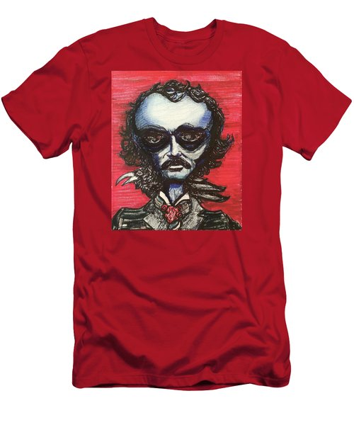 Edgar Alien Poe Men's T-Shirt (Athletic Fit)