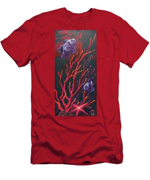 Electric Clown Men's T-Shirt (Athletic Fit)