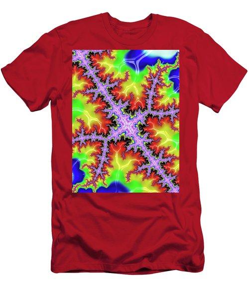 Electric Men's T-Shirt (Slim Fit) by Rajiv Chopra