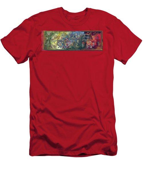 Elemental Bubbles Men's T-Shirt (Athletic Fit)