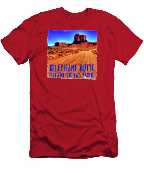 Elephant Butte Monument Valley Navajo Tribal Park Men's T-Shirt (Athletic Fit)