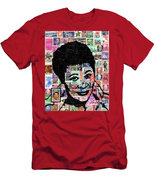 Lady Ella Fitzgerald Men's T-Shirt (Athletic Fit)