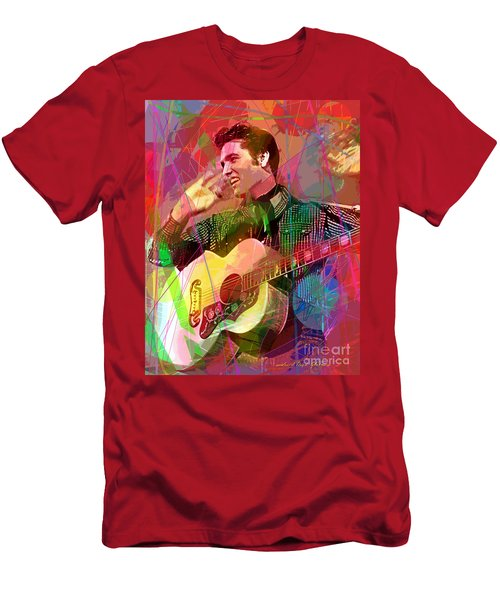 Elvis Rockabilly  Men's T-Shirt (Athletic Fit)