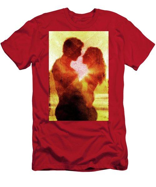 Embrace Men's T-Shirt (Slim Fit) by Andrea Barbieri