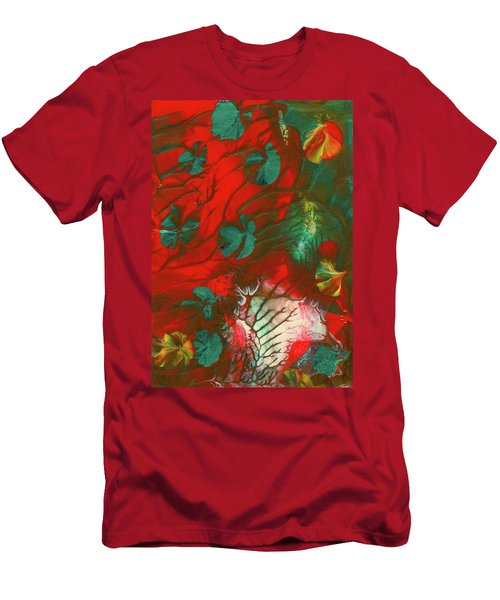 Emerald Butterfly Island Men's T-Shirt (Athletic Fit)
