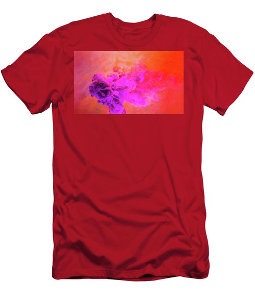 Emotional Fusion  - Abstract Art Photography Men's T-Shirt (Slim Fit) by Modern Art Prints