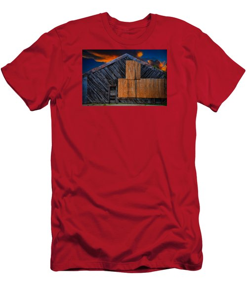 Empty Barn Men's T-Shirt (Athletic Fit)