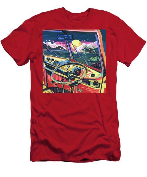 End Of Summer Men's T-Shirt (Slim Fit) by Bekim Art