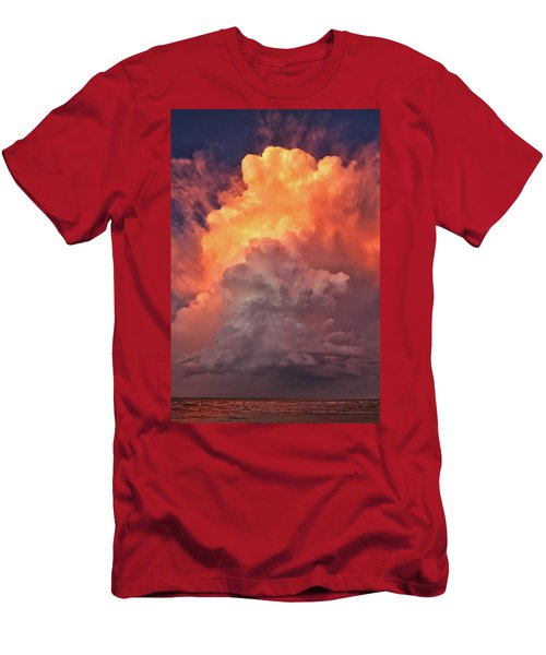 Epic Storm Clouds Men's T-Shirt (Athletic Fit)